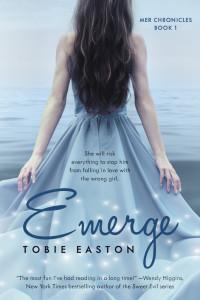 emerge tobie easton mermaid novel