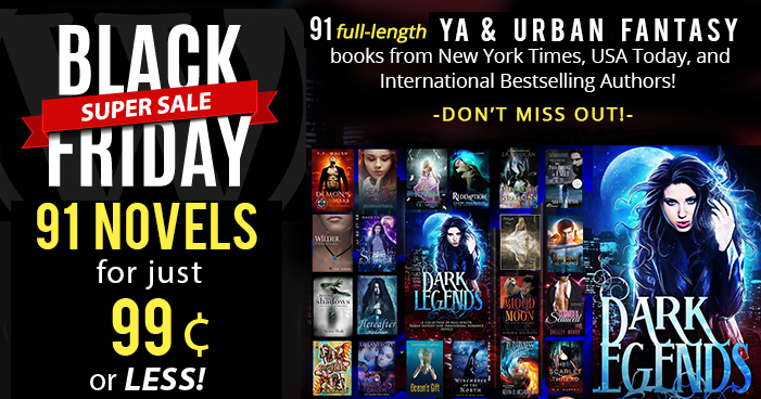 91 Black Friday & Cyber Monday Book Deals (Free and 99cent YA books)